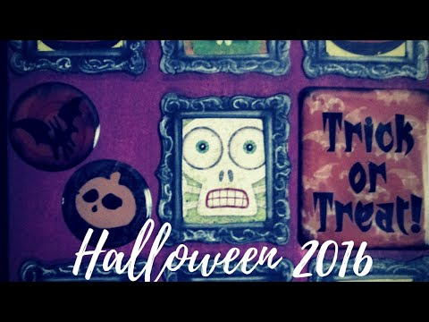 Easy Halloween Card Tutorial using Epoxy stickers!