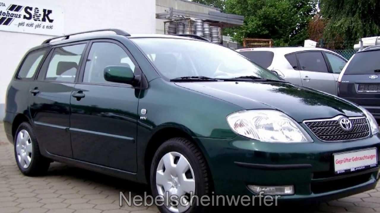 Toyota Corolla 1 4 Sol Kombi 040245 Klimaautomatik Quot Toyota