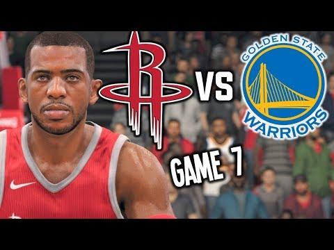 Golden State Warriors vs Houston Rockets GAME 7 HYPE - NBA LIVE 18