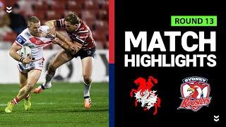 Dragons v Roosters | Round 13 2020 | Telstra Premiership | NRL