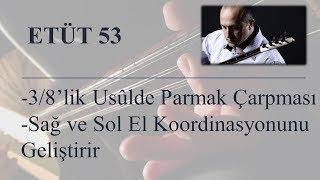 Mehmet KINIK - Uzun Sap Bağlama Çarpma(Süsleme) Egzersizleri (Etüt 53)