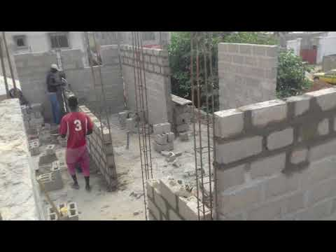 Building Four Bedrooms in Gambia with Cost || Part 2 - Structure