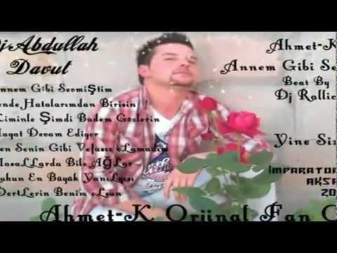 Ahmet-K 2012 Yeni [HataLarımdan Birisin Sen]