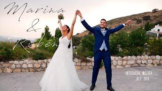 Marina & Rubén. Una boda maravillosa en Antequera, Málaga, Spain.