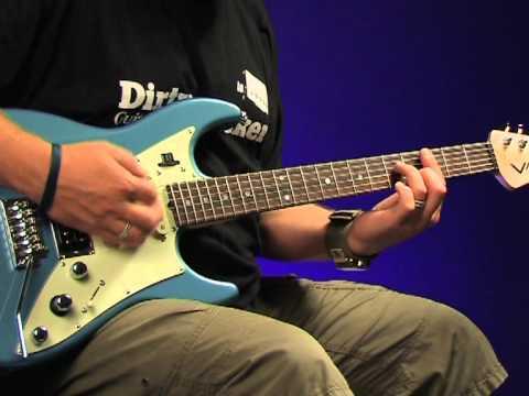 James Tyler Variax video review demo Guitarist Magazine