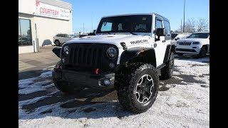 Bright White | 2015 Jeep Wrangler Rubicon | Courtesy Chrysler