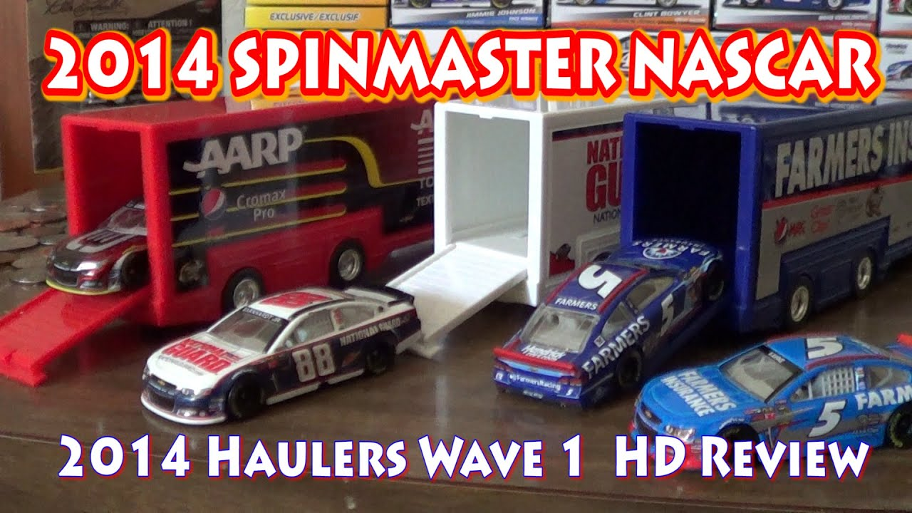 2014 Nascar Authentics Wave 1 Haulers Hd Unboxing And