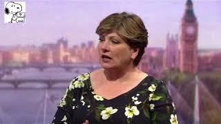 """#WindrushScandal #Marr  Labour's Emily Thornberry calls for Amber Rudd to RESIGN!!  """""""