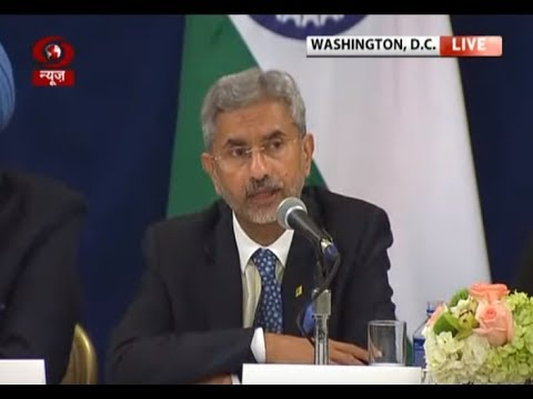 Foreign Secy. S Jaishankar briefs media on PM Modi's meeting with President Trump