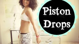 Learn to belly dance: how to do piston hip drops