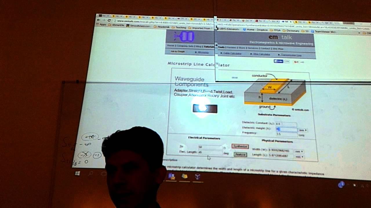 hfss coplanar waveguide tasar m coplanar waveguide design youtube rh youtube com Microstrip Filter Design Robot Design