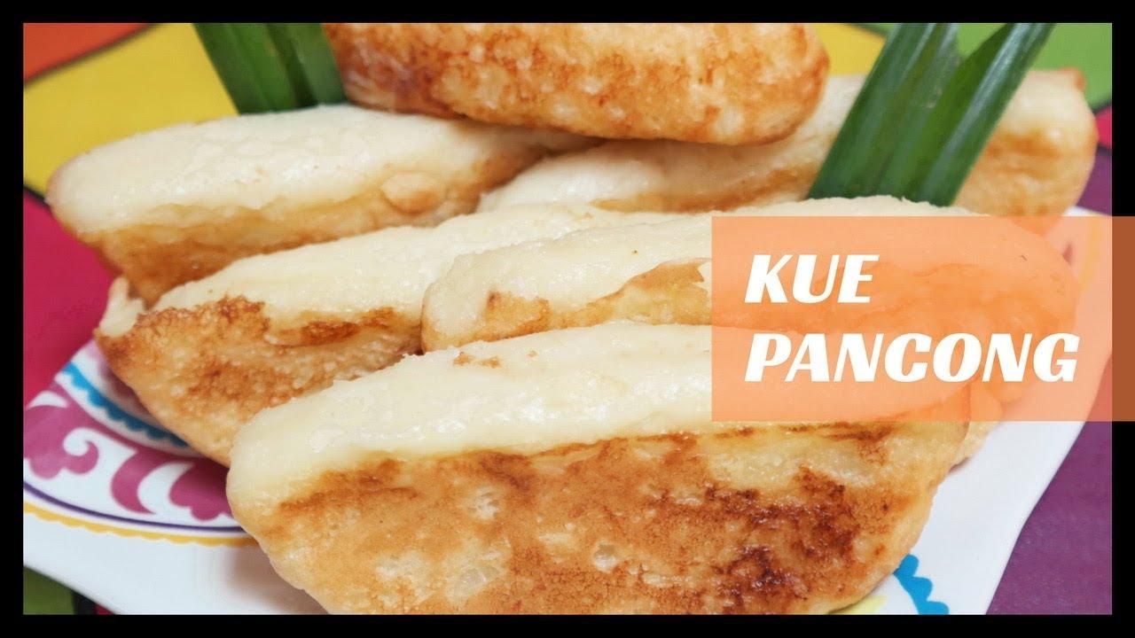 Resep Cara Membuat Kue Pancong - YouTube