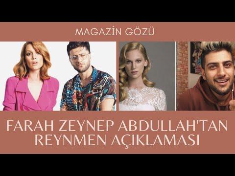 Reynmen In Hareketine Farah Zeynep Abdullah Tan Esprili Yanit Magazin Haberleri