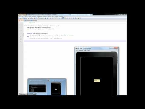 Corona SDK How-To Tutorials - weblink - openURL()