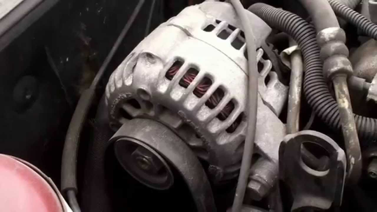 pontiac grand am alternator replacement