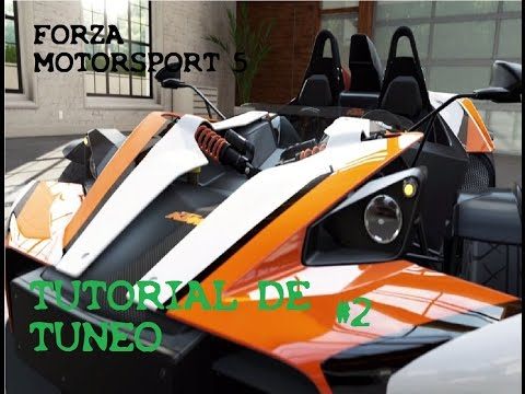Forza 5 Como tunear un coche Consejos y tutorial comentado español