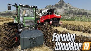 Pokaz Maszyn i Pierwsze Żniwa! Farming Simulator 19 #1 ㋡/w Tanas