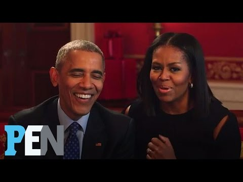 Thumbnail: President Obama & Michelle Obama Answer Kids' Adorable Questions | PEN | Entertainment Weekly