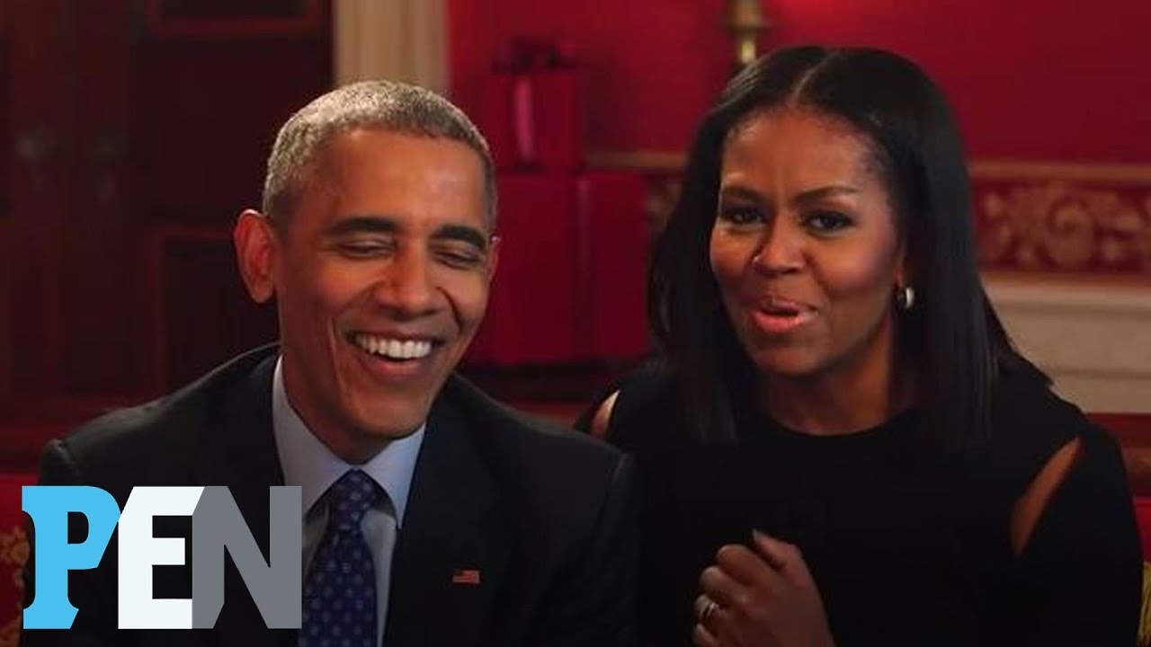 President Obama & Michelle Obama Answer Kids' Adorable Questions | PEN | Entertainment Week