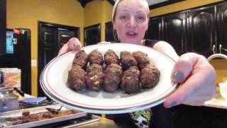 How to make Plain Turkish Meatballs - Kofte