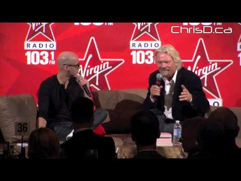 Richard Branson  Q&A - October 5, 2012 - Winnipeg, Manitoba