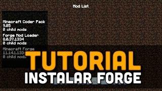 Minecraft 1.8 - TUTORIAL - Instalar Forge