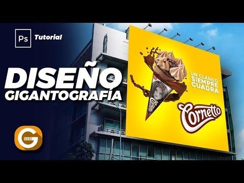 Photoshop Tutorial | Diseño De Gigantografía | Advertising Design