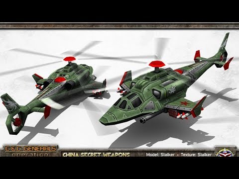 Operation Firestorm - China Secret Weapons General