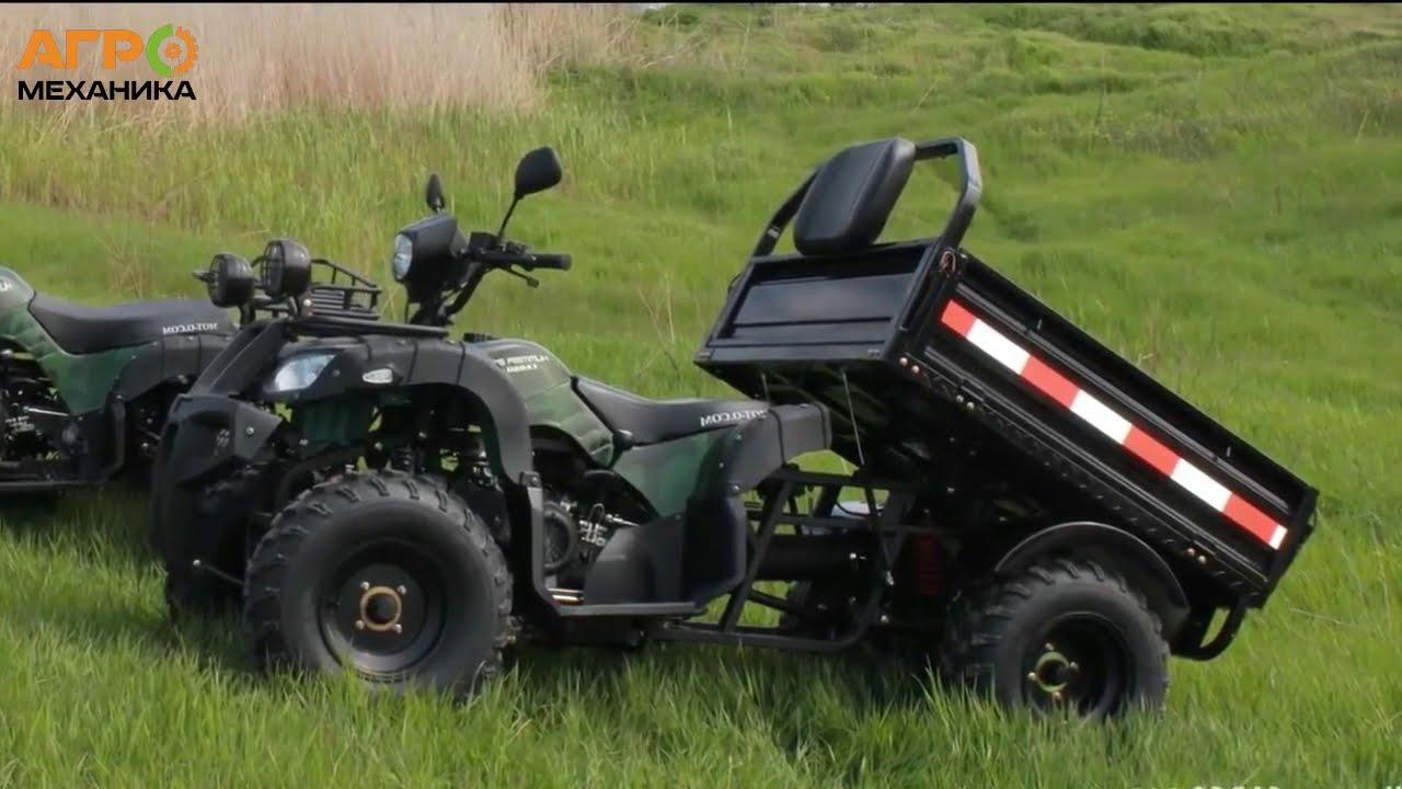 Купить грузовой квадроцикл Hummer Cargo 200 в Украине