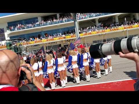 Formula 1 Circuit of the Americas National Anthem