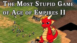 The Most Stupid Game of AOE2 ft. The Fat Dragon