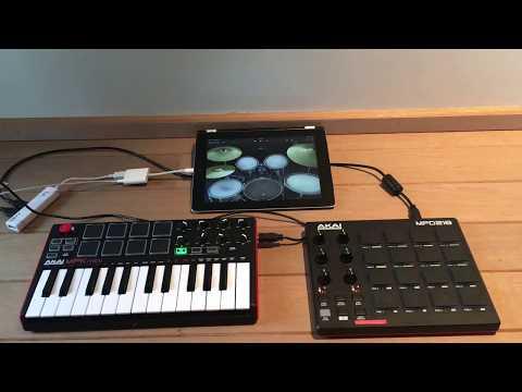 iPad & 2 Midi Controllers