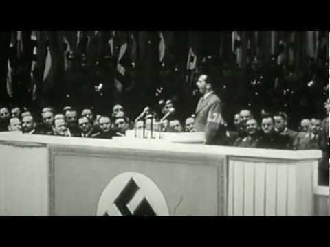 """1943: Goebbels fordert den """"Totalen Krieg"""""""