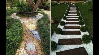 садовые дорожки в ландшафтном  дизайне сада