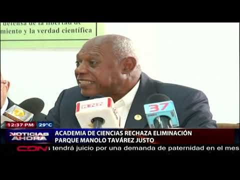Academia De Ciencias Rechaza Eliminación Del Parque Manolo Tavárez Justo