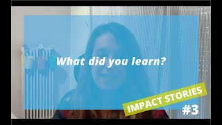 CIVIL SOCIETY TOOLBOX | IMPACT STORIES #3 Aimilia