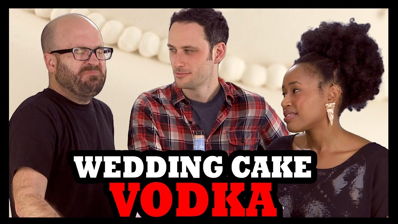 Why Would You Drink Wedding Cake Vodka Youtube
