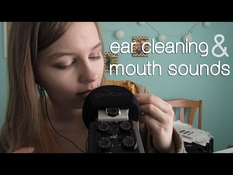 ASMR Ear Cleaning & Mouth Sounds! Intense!