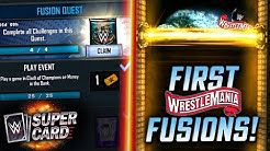 FIRST WRESTLEMANIA 36 FUSIONS!! FUSION QUEST REWARDS!   WWE SuperCard S6