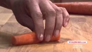 How to cut caŗrots into sticks