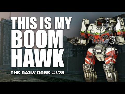 The Boomhawk - AC20 Shadowhawk - Mechwarrior Online The Daily Dose #178