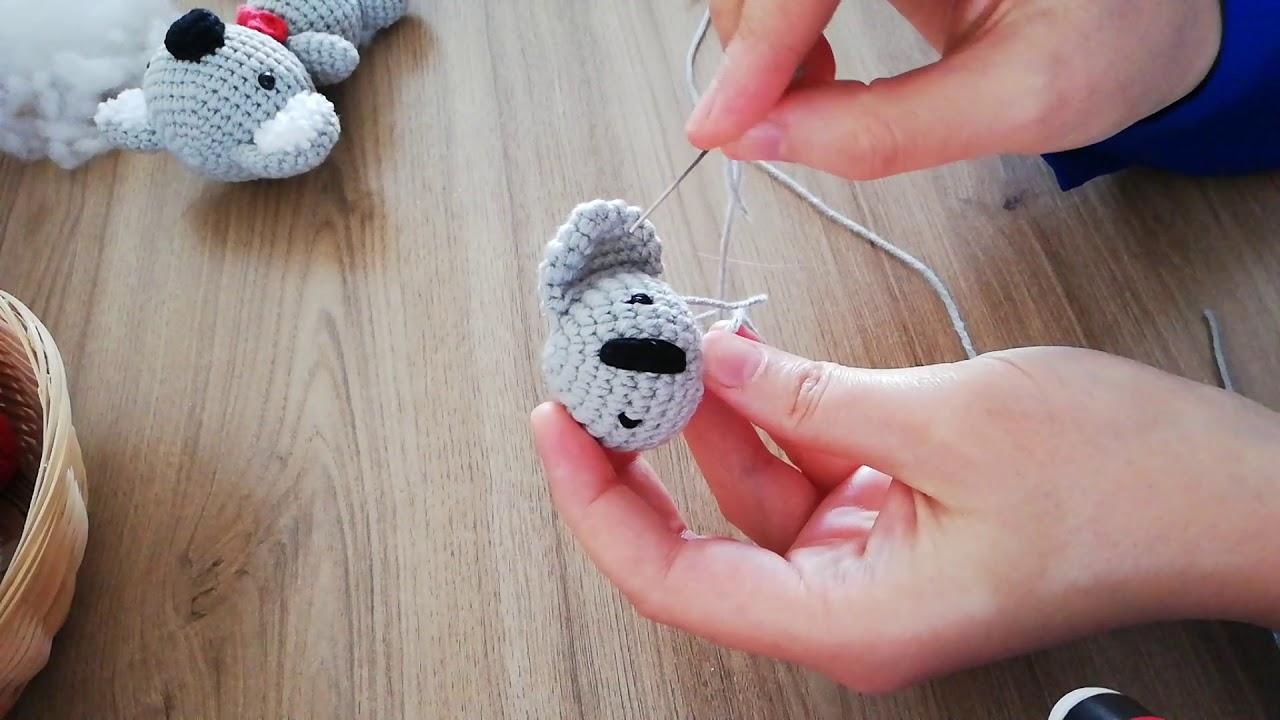 amigurumi parmak kukla yapımı