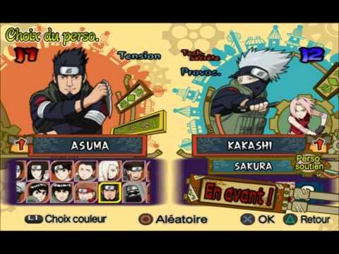 Alex&MrBass | Mekongame - Naruto shippuden ultimate ninja 5 - PS2
