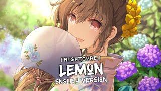Nightcore - Lemon (Lyrics) - (English Version)
