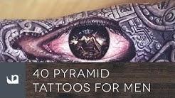 40 Pyramid Tattoos For Men