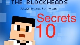 The Blockheads - Secrets 10 (Falling from space and Fast downward elevators)