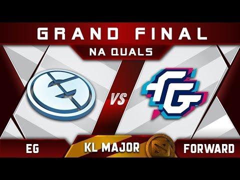 EG vs Forward Grand Final NA Kuala Lumpur Major KL Highlights Dota 2