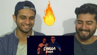 21 Century : Mankirt Aulakh Ft. Singga MixSingh (Official Song) REACTION !