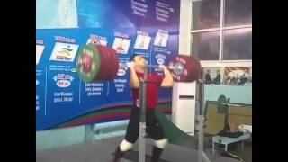 WORLD RECORD 250 KG Ночная тренировка Толчок 250 кг. Мировой рекорд!!!