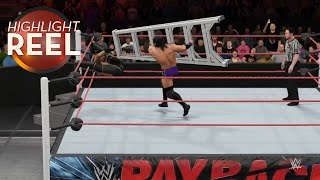 Highlight Reel #168 - I Don't Think It's Legal To Do That With A Ladder